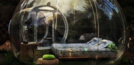 Hotel Attrap'Rêves, la experiencia de dormir en una burbuja