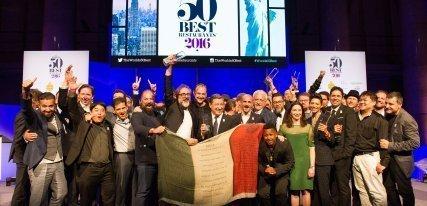 Los 50 mejores restaurantes del mundo en 2016 por World's 50 Best Restaurants