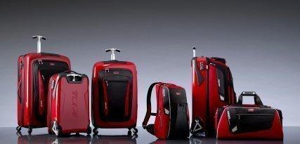 Tumi y Ducati se fusionan para crear una colección de maletas de viaje
