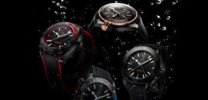 Omega Planet Ocean Deep Black, los relojes de las profundidades