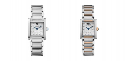 Cartier Tank, un icono con horas de diamante