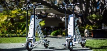 Urb-E, la revolución del scooter eléctrico
