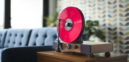 Gramovox Floating Record, un tocadiscos de diseño excepcional