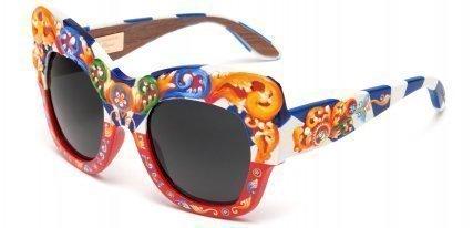 Gafas de sol Dolce & Gabbana Sicilian Carretto, puro colorismo medieval