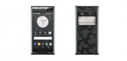 Vertu Aster Leaf, un smartphone de lujo fruto de la naturaleza