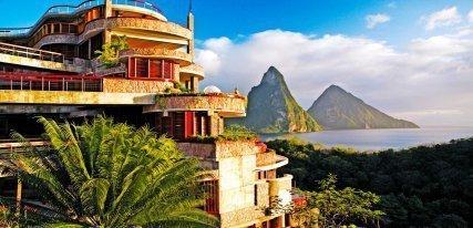 Jade Mountain Resort, Santa Lucía, un hotel en el paraíso