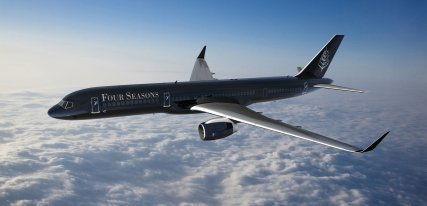 Four Seasons Private Jet, una experiencia de lujo en las nubes