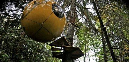 Free Spirit Spheres, Canadá: Pasión por la naturaleza