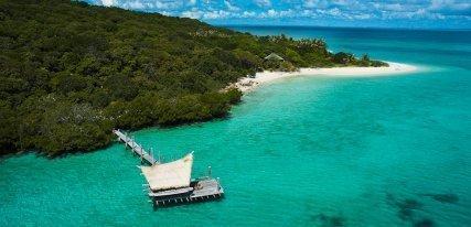 Haggerstone Island Resort, lujo rústico y envuelto por la naturaleza