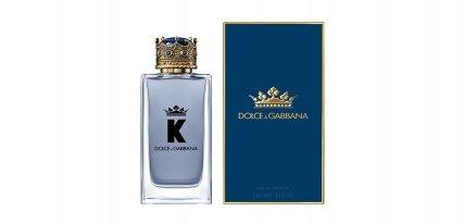 K by Dolce & Gabanna, la esencia masculina de un rey