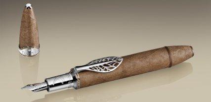 Montblanc Figurado Creation Privée, hojas de tabaco al servicio de la escritura