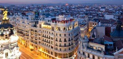 Los 6 mejores hoteles de lujo en Madrid