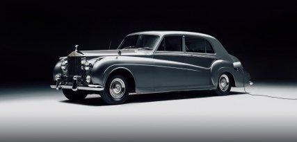 Phantom V eléctrico, adaptación de Lunaz al clásico de Rolls-Royce