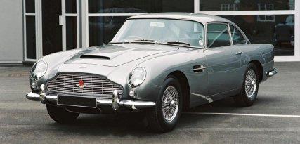 Aston Martin DB5, fuerza británica y diseño italiano