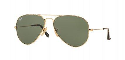 Las gafas de sol Ray-Ban de oro que atraviesan la barrera del tiempo