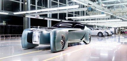 Rolls-Royce 103EX, el coche del futuro de la doble erre