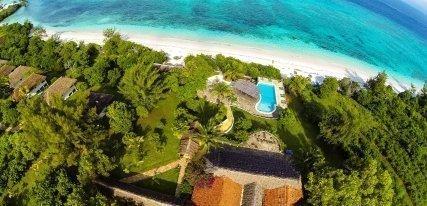 Manta Resort, el placer de una isla con cinco estrellas en Zanzíbar