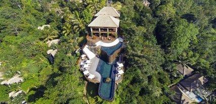 Ubud Hanging Gardens, siete estrellas de puro lujo en Indonesia