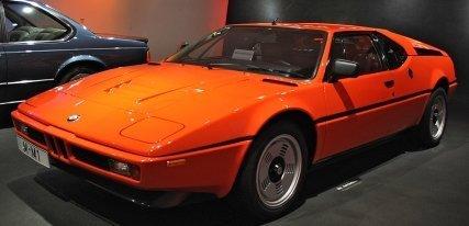 BMW M1, cuando BMW se alió con Lamborghini