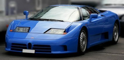 Bugatti EB110, adelantado a su época