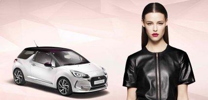 Citroën DS3 Givenchy Le Makeup, automóvil listo para la pasarela