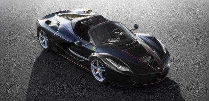 El spider Ferrari LaFerrari Aperta es mucho más de lo que esperabas
