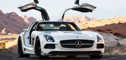 Mercedes SLS AMG, lujo, estilo y diseño alemán