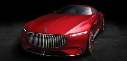 Vision Mercedes-Maybach 6 Concept, la flecha eléctrica del futuro