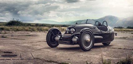 Morgan EV3 Selfridges, el triciclo eléctrico para viajar en el tiempo