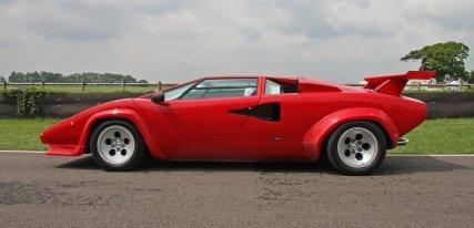 Lamborghini Countach, el mito indiscutible de los años 80