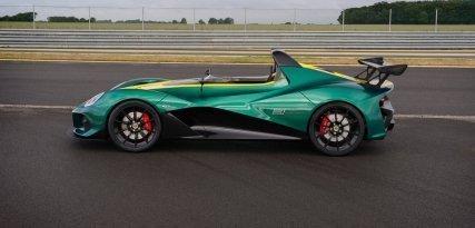 Lotus 3-Eleven, toda la velocidad en tus manos