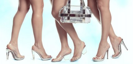Colección de zapatos transparentes Magrit