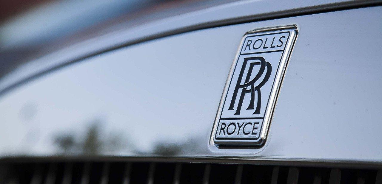 Logo de la compañía automovilística Rolls-Royce