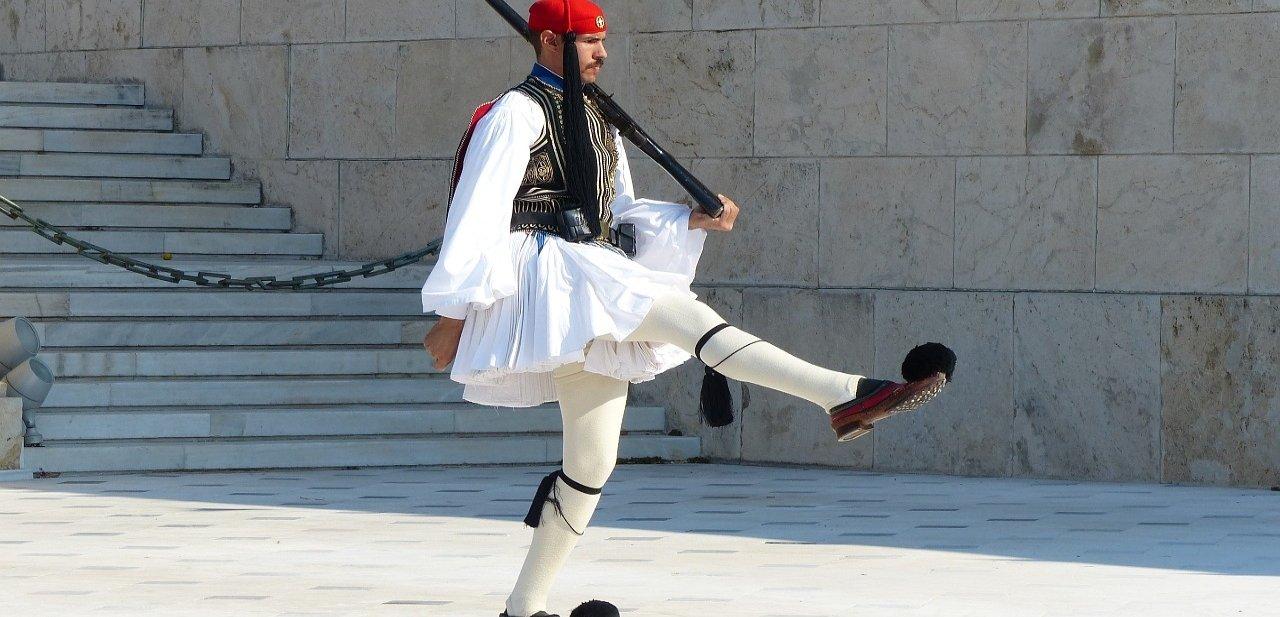 Los Evzones, la Guardia Presidencial Griega