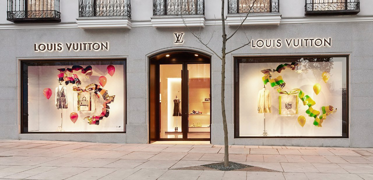 Louis Vuitton fachada Madrid