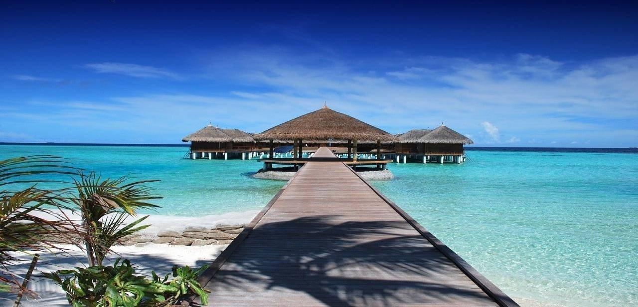 Mar islas Maldivas