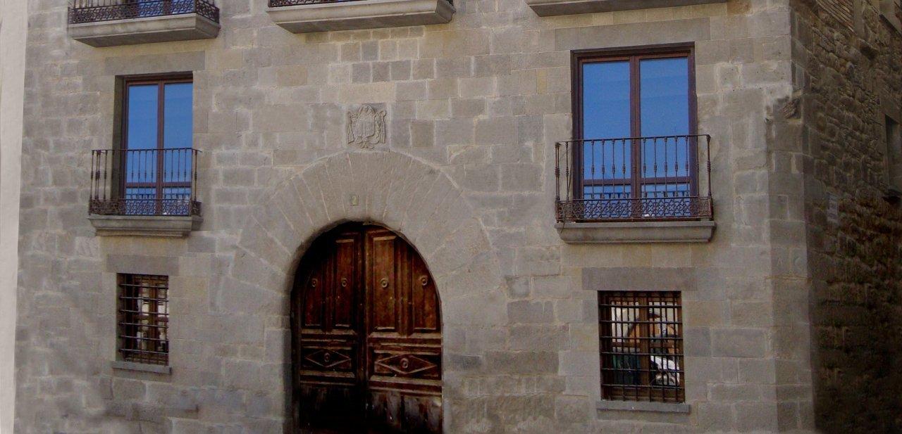 Marcas de cantería del Hotel Palacio del Obispo