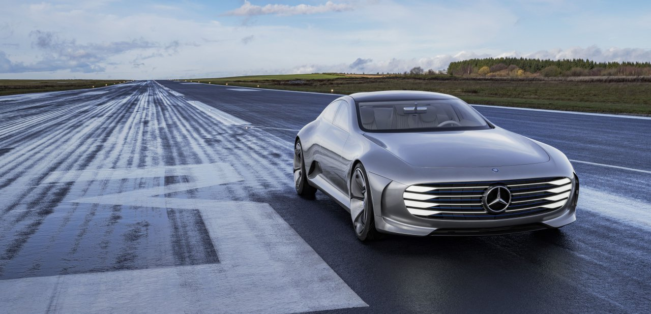 Mercedes-Benz 'Concept IAA' visto desde la parte frontal