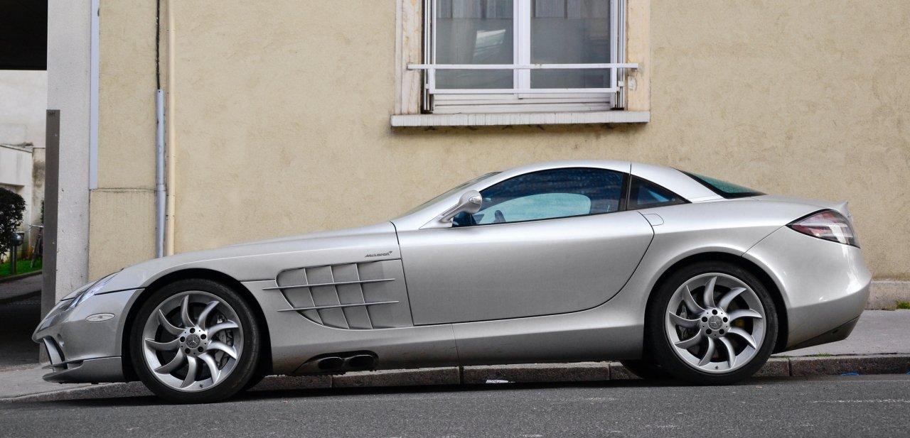 Mercedes SLR McLaren lateral