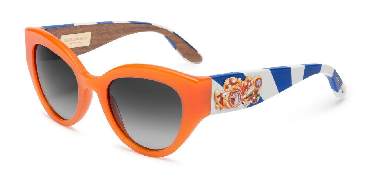 Modelo DG4278 de las gafas de sol Dolce & Gabbana Sicilian Carretto