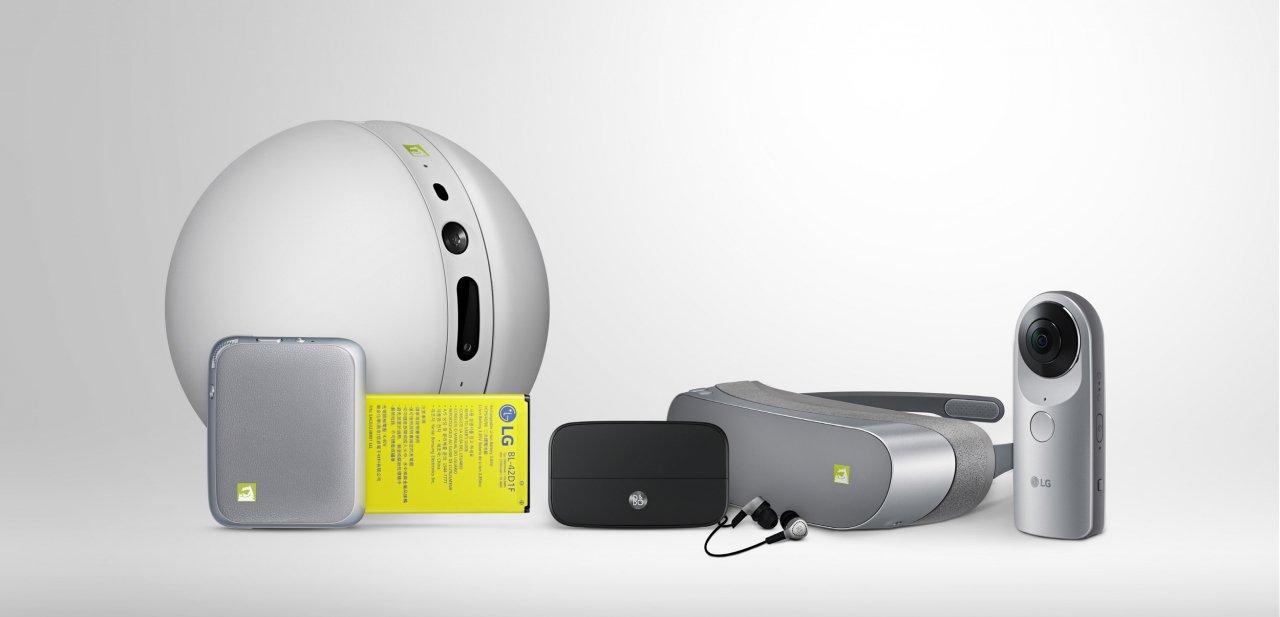 Módulos y accesorios del LG G5