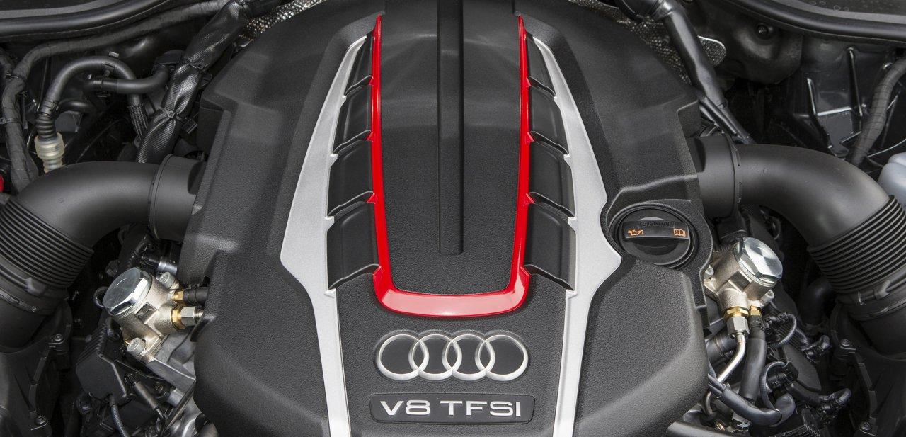 Motor TFSI de 520 CV y 650 Nm de par motor