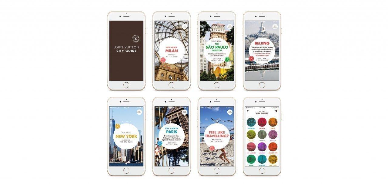 Muestra de las diferentes guías del 2016 en versión móvil