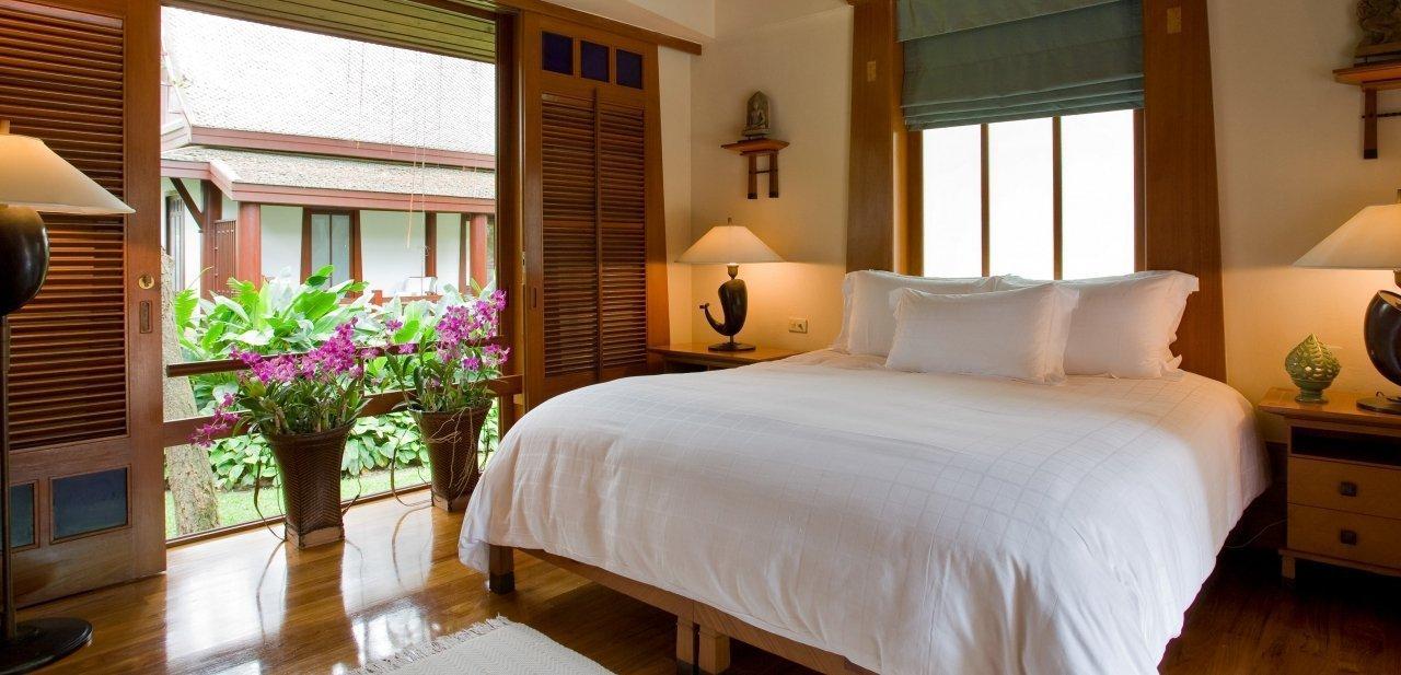 Pabellón Thai habitación