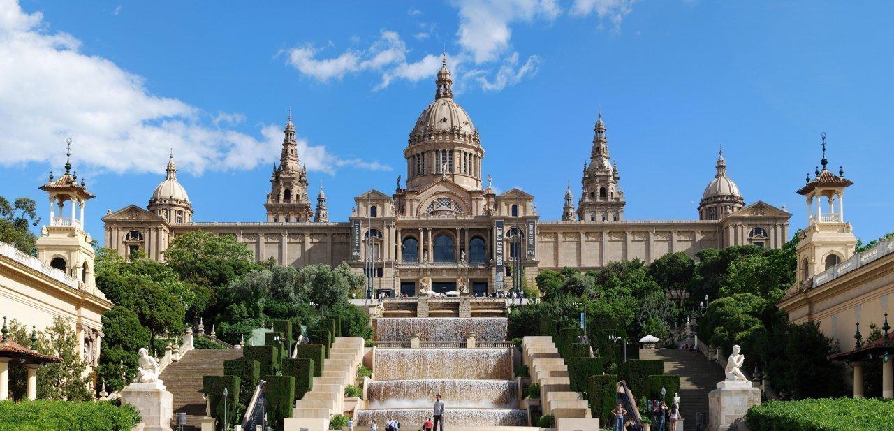 Palacio Nacional de Montjuïc, sede del Museu Nacional d'Art de Catalunya