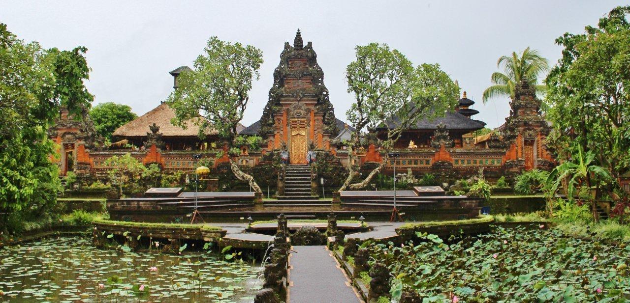 Palacio Puri Saren Agung de Ubud