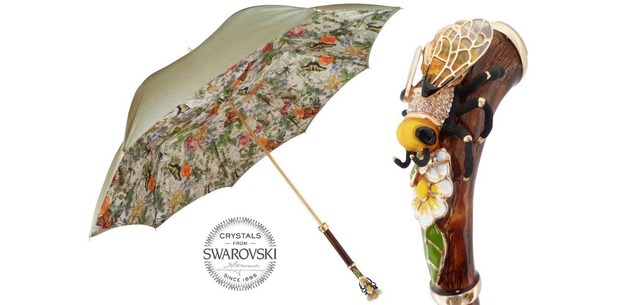 Paraguas italianos Pasotti Mango de abeja