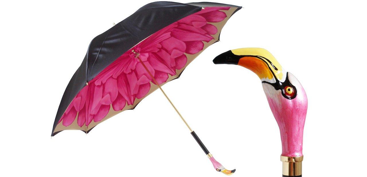 Paraguas Pasotti Mango de Pájaro