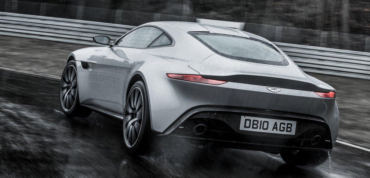 Parte trasera del Aston Martin DB10