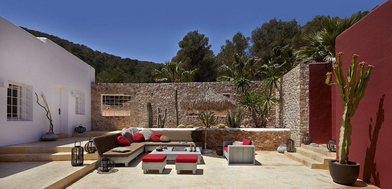 Patio del Pure House Ibiza